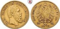 20 Mark 1872 F Württemberg Karl, 1864-1891, 20 Mark 1872, F. Gold. J.29... 350,00 EUR  +  10,00 EUR shipping
