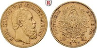 10 Mark 1873 F Württemberg Karl, 1864-1891, 10 Mark 1873, F. Gold. J.28... 205,00 EUR  +  10,00 EUR shipping