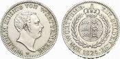 Gulden 1824  W Württemberg Wilhelm I. 1816...