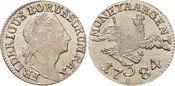 3 Gröscher 1 1784  A Brandenburg-Preussen ...
