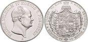 Doppeltaler 1856  A Brandenburg-Preussen F...