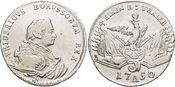 1/4 Taler 1750  A Brandenburg-Preussen Friedrich II. 1740-1786, Münzstätte Berlin. Winz.Sf., sehr schön - vorzüglich