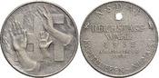 Medaille 1932 Drittes Reich  Min.Rf., selten, mattiert, vorzüglich -