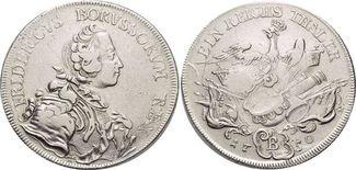 Taler 1750  B Brandenburg-Preussen Friedri...