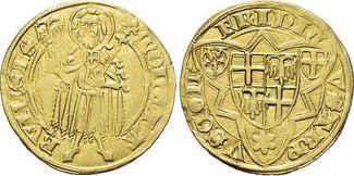 Goldgulden 1371-1414 Köln-Erzbistum Friedr...