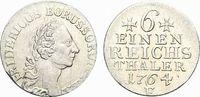 1/6 Taler 1764  F Brandenburg-Preussen Friedrich II. 1740-1786, Münzstä... 99,00 EUR  +  5,00 EUR shipping