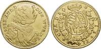 Gold-1/4 Karolin 1733 Württemberg Eberhard Ludwig 1693-1733. Kl.Verprä... 775,00 EUR free shipping
