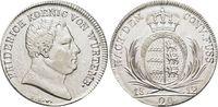 20 Kreuzer 1812 Württemberg Friedrich I. 1806-1816. Rs.min.just., fast ... 295,00 EUR free shipping