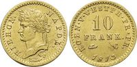 Gold-10 Franken 1813  C Westfalen-Königreich Hieronymus Napoleon 1807-... 1175,00 EUR