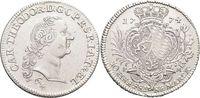 Konventionstaler 1774  PM Jülich-Berg Karl Theodor von Pfalz-Sulzbach ... 445,00 EUR free shipping
