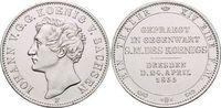 Taler 1855  F Sachsen-Albertinische Linie Johann 1854-1873. vorzüglich... 259,00 EUR free shipping