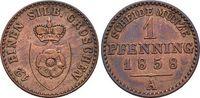 CU-Pfennig 1858  A Lippe-Detmold Paul Friedrich Emil Leopold 1851-1875.... 12,00 EUR  +  5,00 EUR shipping
