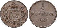 Bayern CU-1/2 Kreuzer Maximilian II. Joseph 1848-1864.