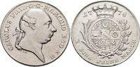 Konventionstaler 1778  H Baden-Durlach Karl Friedrich 1738-1806. Winz.... 445,00 EUR free shipping