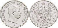1/6 Taler 1862  A Brandenburg-Preussen Wilhelm I. 1861-1888. Kl.Kratzer... 49,00 EUR  +  5,00 EUR shipping