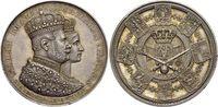 AR-Medaille 1861 Brandenburg-Preussen Wilh...