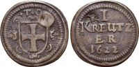 CU-Kipper-Kreuzer - mit Gegenstempel'Rose' 1622 Deutscher Orden Karl, E... 189,00 EUR  +  5,00 EUR shipping