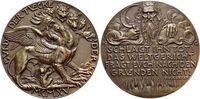Bronze-Gussmedaille 1915 Medaillen von Karl Goetz 1875 bis 1950  Schöne... 485,00 EUR free shipping