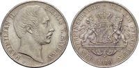 Vereinstaler 1858 Bayern Maximilian II. Joseph 1848-1864. Kl.Rf., schö... 195,00 EUR  +  5,00 EUR shipping
