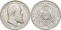 3 Mark 1909  F Württemberg Wilhelm II. 1891-1918. Kl.Rf., fast vorzügli... 28,00 EUR  +  5,00 EUR shipping