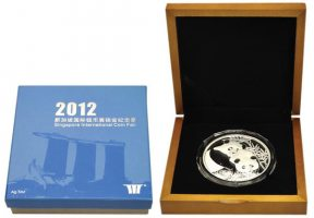 China Medal 2012 Proof in Original Box wit...