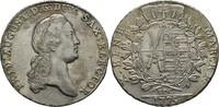 Taler 1775 Sachsen Friedrich August III./I., 1763-1827. vz/f. Stempelgl... 220,00 EUR free shipping