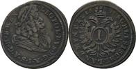 Kreuzer 1695 RDR Austria Schlesien Oppeln Leopold I., 1657-1705. Walzen... 35,00 EUR
