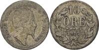 10 Öre 1857 ST Schweden Oscar I., 1844-59 fast ss  8,00 EUR  +  3,00 EUR shipping