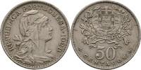 50 Centavos 1928 Portugal  vz  20,00 EUR  +  3,00 EUR shipping