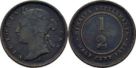 1/2 Cent 1872 H Straits Settlements Victoria, 1837-1901 fast ss  40,00 EUR  +  3,00 EUR shipping