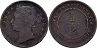 1/2 Cent 1873 Straits Settlements Victoria, 1837-1901 fast ss  40,00 EUR  +  3,00 EUR shipping