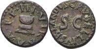 Quadrans 5-4 RÖMISCHE KAISERZEIT AUGUSTUS, 27 v.- 14 n.Chr. ss  95,00 EUR  +  3,00 EUR shipping