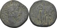 Sesterz 170-171 RÖMISCHE KAISERZEIT Marcus Aurelius (161-180) f.ss  33.92 US$ 30,00 EUR  +  4.52 US$ shipping