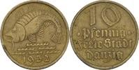10 Pfennig 1932 Danzig Dorsch ss  6,00 EUR  +  3,00 EUR shipping