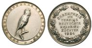 Silbermedaille 1924 Ornithologie Ehrenpreis der dt. Kanarienzüchter kl.... 45,00 EUR  excl. 3,00 EUR verzending