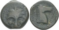 Bronze 400-300 Karthago Zeugitania  ss  55,00 EUR