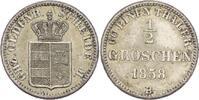 1/2 Groschen 1858 Oldenburg Nicolaus Friedrich Peter, 1853-1900 vz+  28,00 EUR  +  3,00 EUR shipping