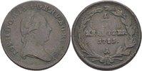 1/2 Kreuzer 1781 RDR Österreich Wien Joseph II., 1780-1790 ss  15,00 EUR  +  3,00 EUR shipping