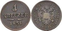 Kreuzer 1851 austria Ungarn Karlsburg Franz Joseph, 1848-1916 ss/s  30,00 EUR  +  3,00 EUR shipping