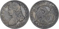 1/2 Dollar (50 Cent) 1832 USA  ss  115,00 EUR  +  3,00 EUR shipping