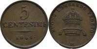 Austria Lombardei Milano 5 Centesimi franz Joseph, 1848-1916.