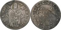Grosso 1816 Vatikan Bologna Pius VII., 1800-1823. winziger Bug, ss  40,00 EUR
