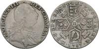 Shilling 1787 Großbritannien George III., 1760-1820 ss-/ss  55,00 EUR