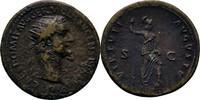 Dupondius 92-94 RÖMISCHE KAISERZEIT Domitian, 81-96. ss  65,00 EUR