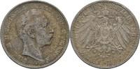 2 Mark 1896 Preussen Wilhelm II., 1888-1918. ss  35,00 EUR