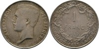 Franc 1912 Belgium Belgien Albert I., 1909-1934 ss  12,00 EUR