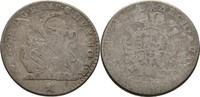 Double Escalin 1751 RDR Brabant Brügge Maria Theresia, 1740-1780 f.ss  50,00 EUR