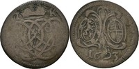 2 Kreuzer 1693 Brandenburg Ansbach Georg Friedrich, 1692-1703 f.ss/ss  15,00 EUR