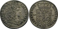 2/3 Taler (Gulden) 1689 Brandenburg Preussen Berlin Friedrich III., 168... 200,00 EUR