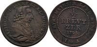 1/2 Kreuzer 1795 Mainz, Erzbistum Friedrich Karl Joseph, 1774-1802 Schr... 15,00 EUR
